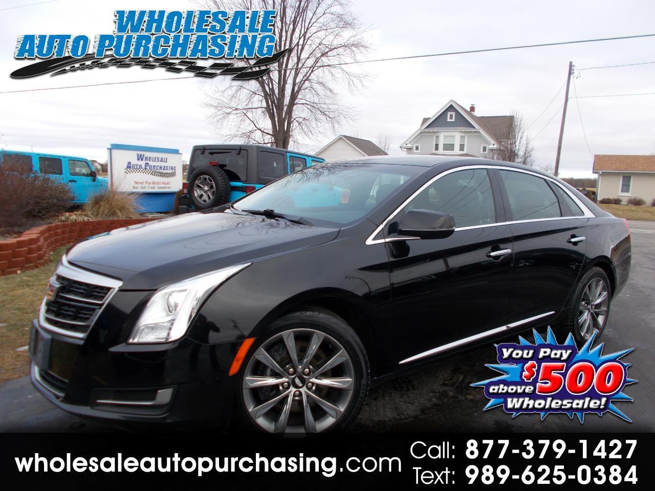 2017 Cadillac XTS 4dr Sdn FWD