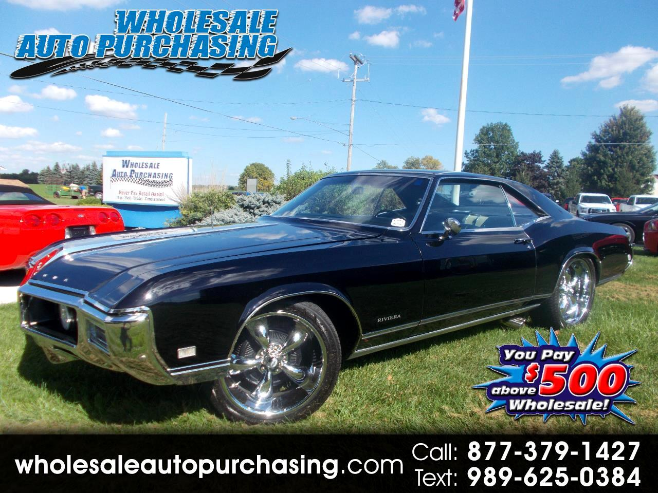 1968 Buick Riviera 2dr Coupe