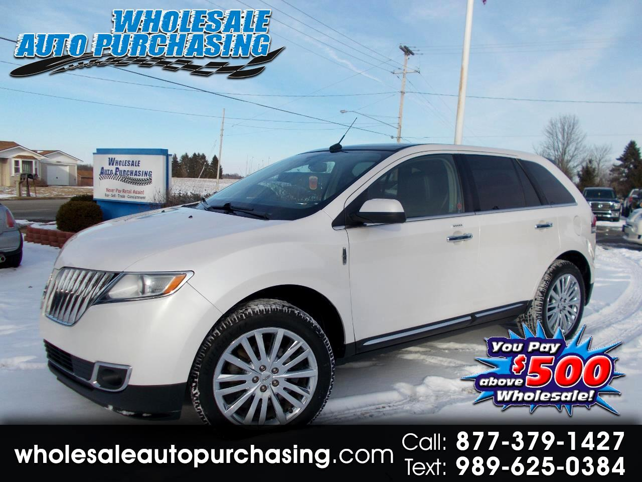 2011 Lincoln MKX AWD 4dr