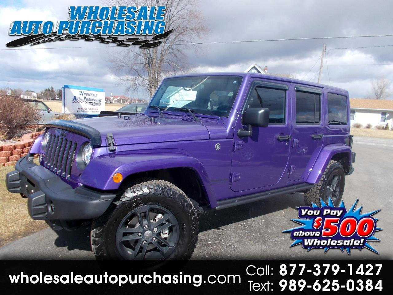 2017 Jeep Wrangler 4WD 4dr Winter *Ltd Avail*