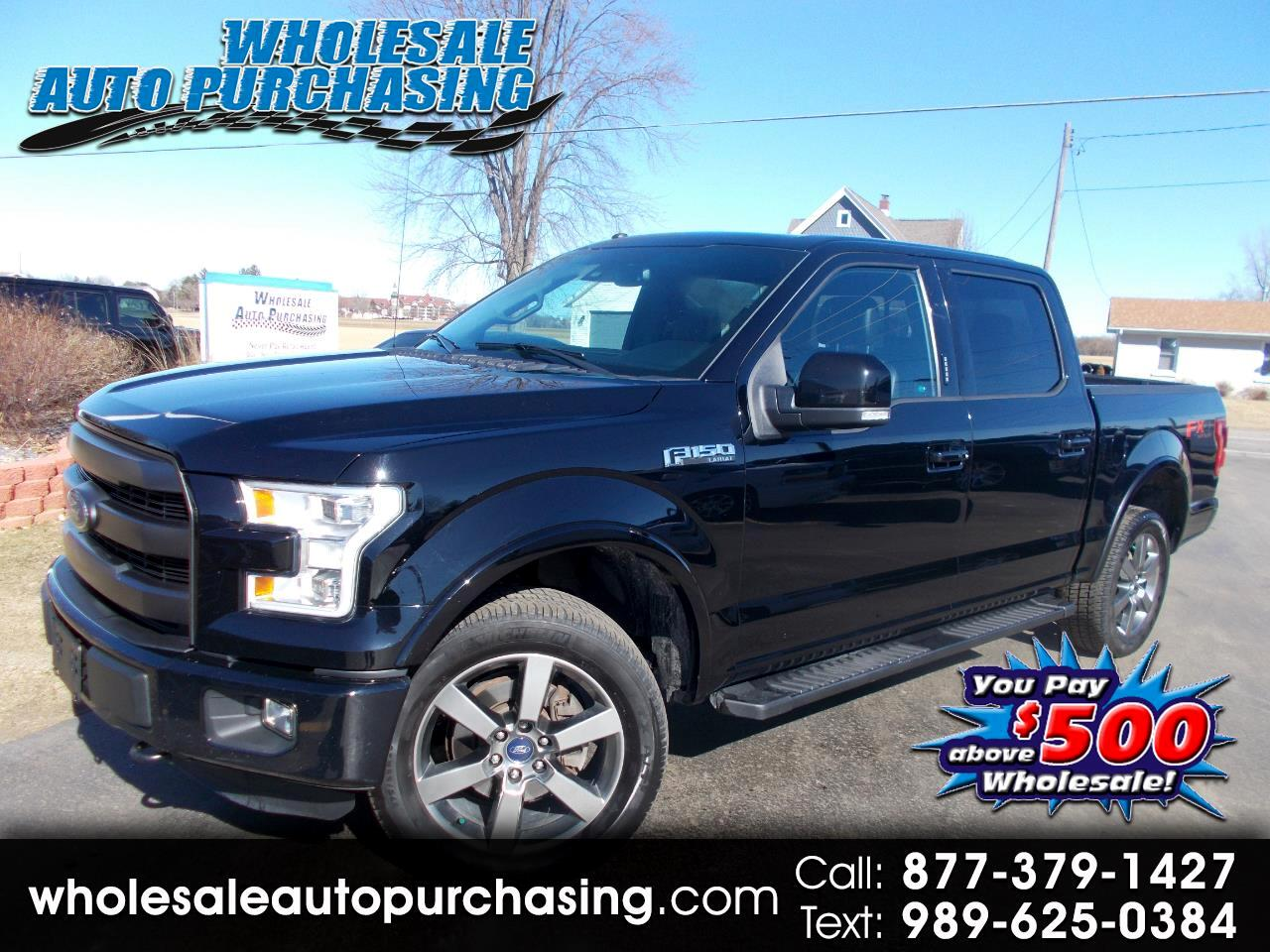 2016 Ford F-150 4WD SuperCrew 145
