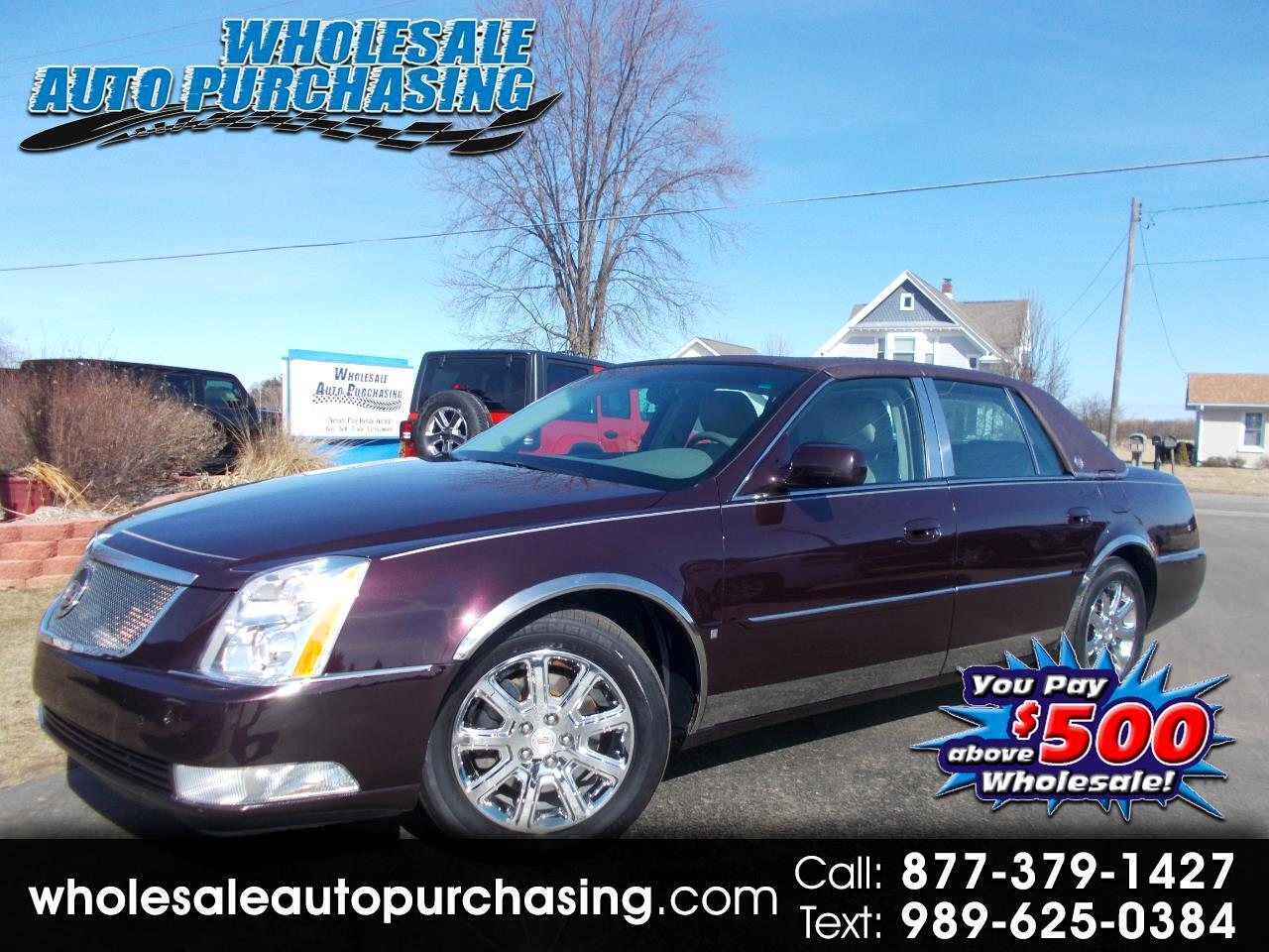 2008 Cadillac DTS 4dr Sdn w/1SC