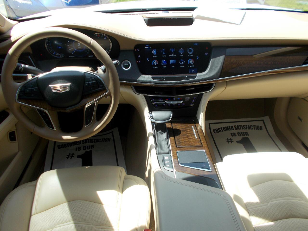 2017 Cadillac CT6 4dr Sdn 3.0L Turbo Platinum AWD