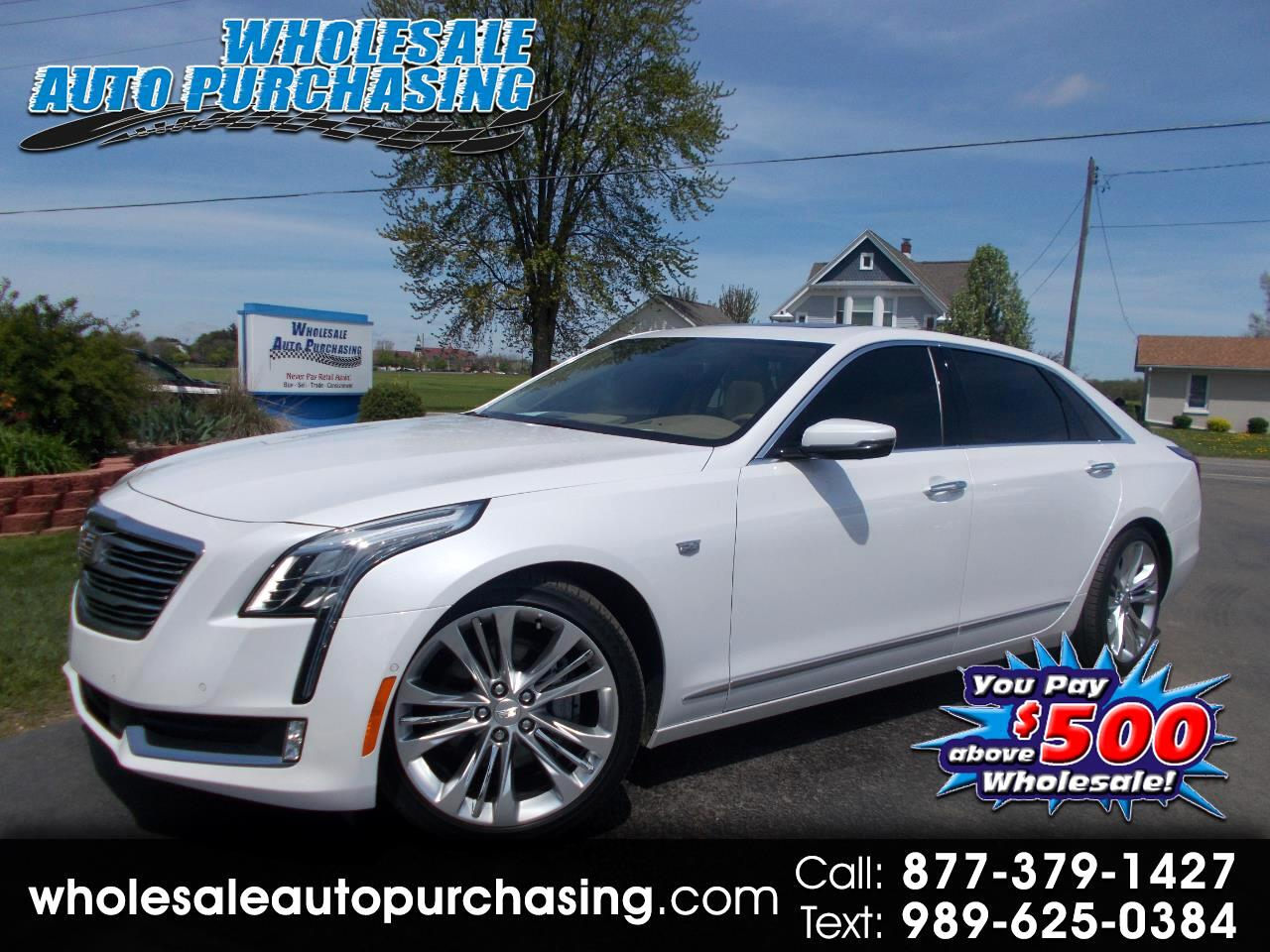 2017 Cadillac CT6 4dr Sdn 3.0L Turbo Platinum AWD