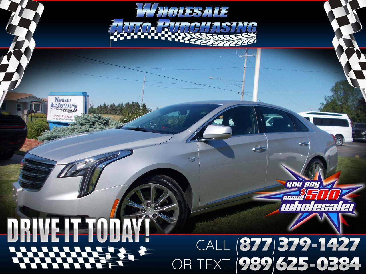 2018 Cadillac XTS 4dr Sdn FWD