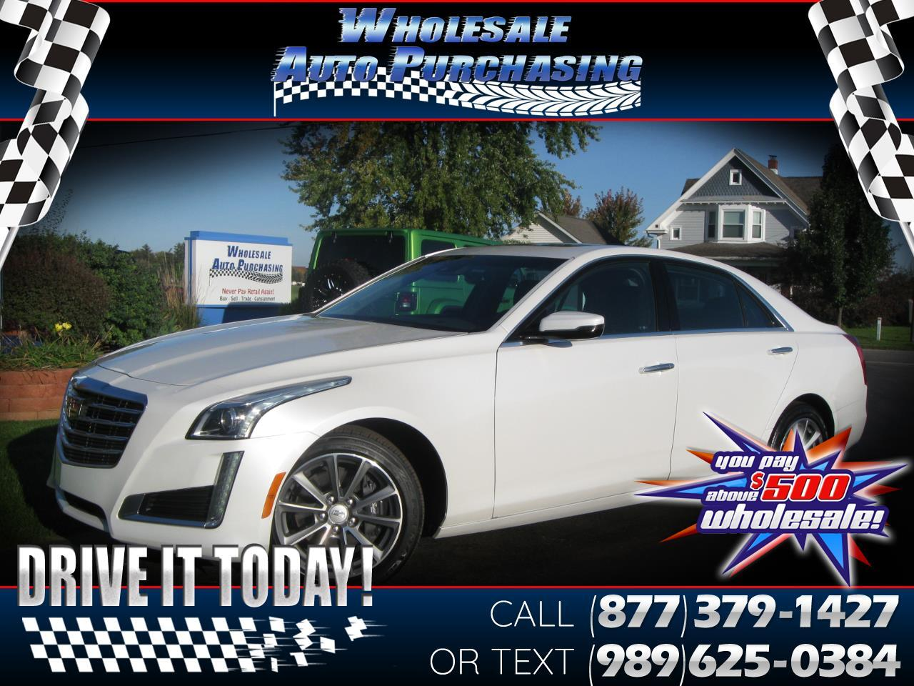 Cadillac CTS Sedan 4dr Sdn 3.6L Luxury AWD 2018
