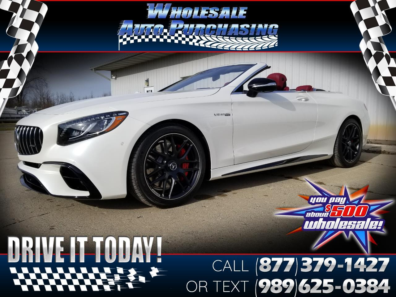 2019 Mercedes-Benz S-Class AMG S 63 4MATIC Cabriolet