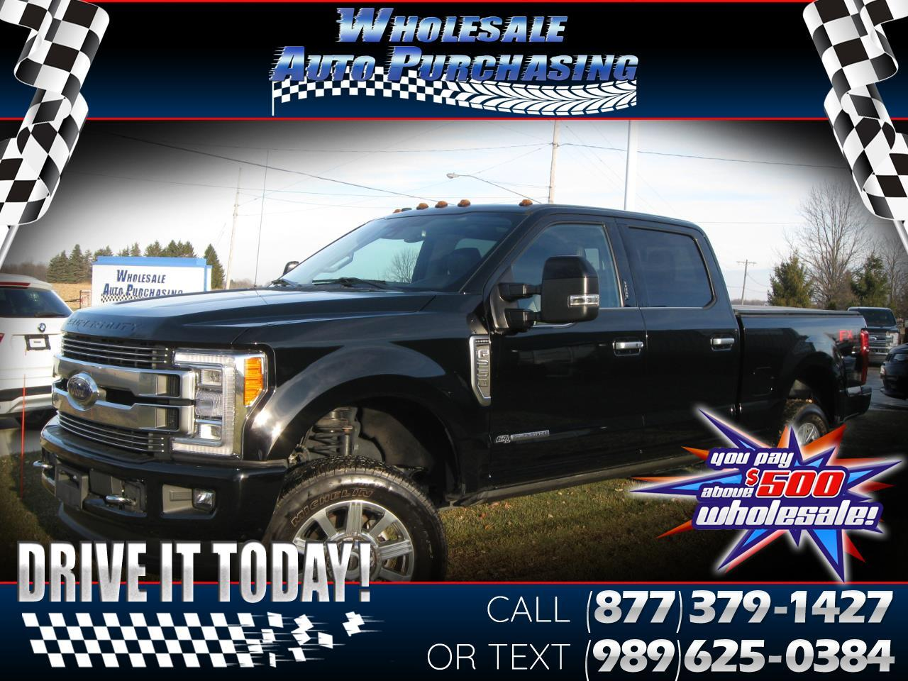 Ford Super Duty F-250 SRW Limited 4WD Crew Cab 6.75' Box 2018