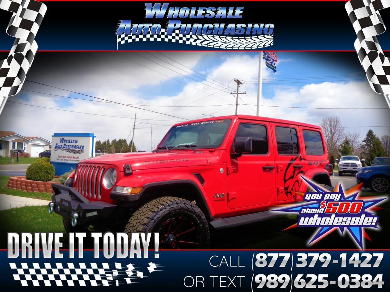 Jeep Wrangler Unlimited 4WD 4dr Rubicon 2020