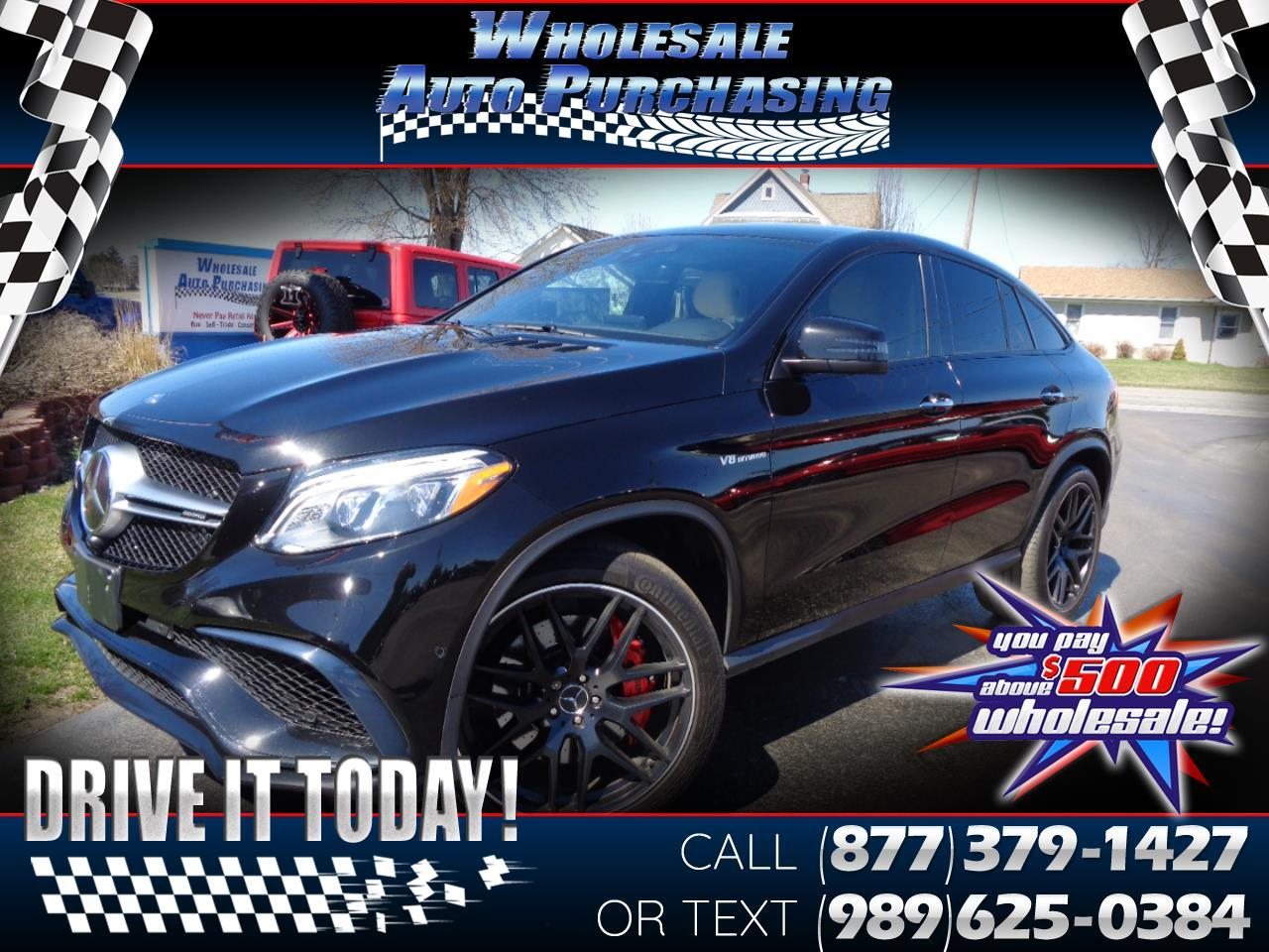 Mercedes-Benz GLE 4MATIC 4dr AMG GLE 63 S Cpe 2016