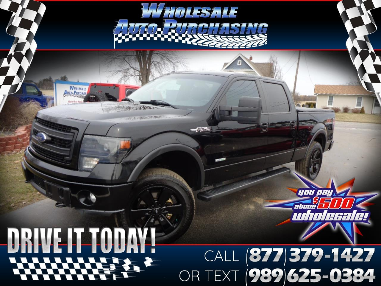 "Ford F-150 4WD SuperCrew 157"" FX4 2013"