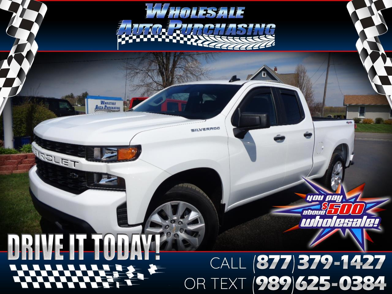 "Chevrolet Silverado 1500 4WD Double Cab 147"" Custom 2019"