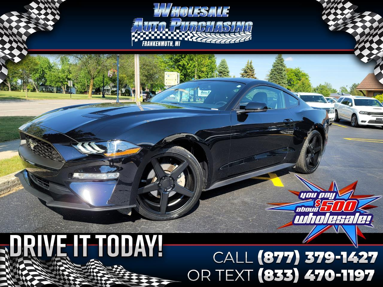Ford Mustang EcoBoost Premium Fastback 2019