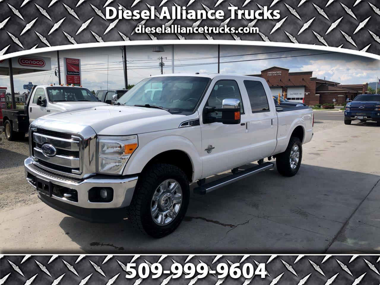 2014 Ford F-350 SD Lariat Crew Cab Short Bed 4WD