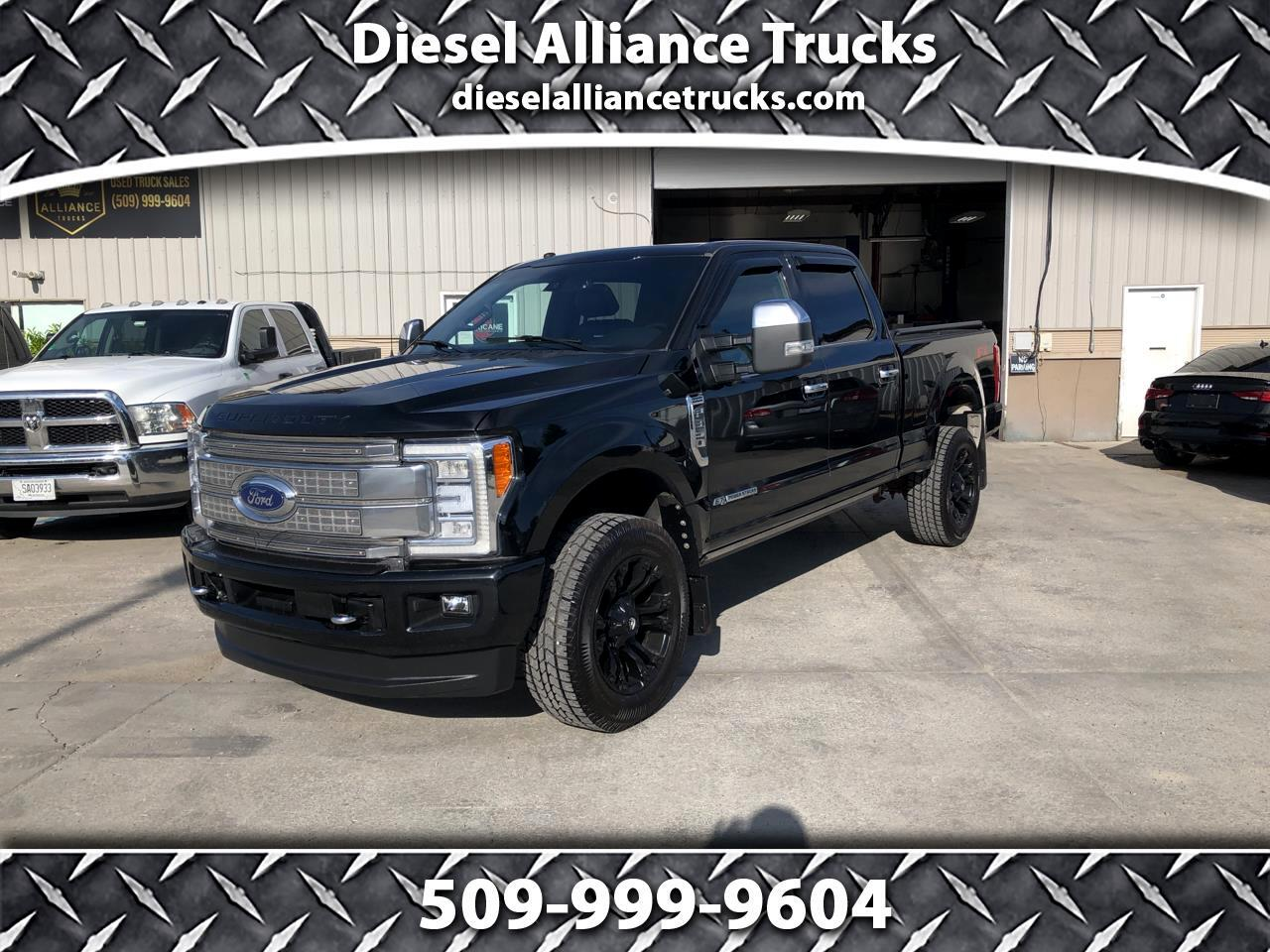 Ford Super Duty F-350 SRW Platinum 4WD Crew Cab 6.75' Box 2018