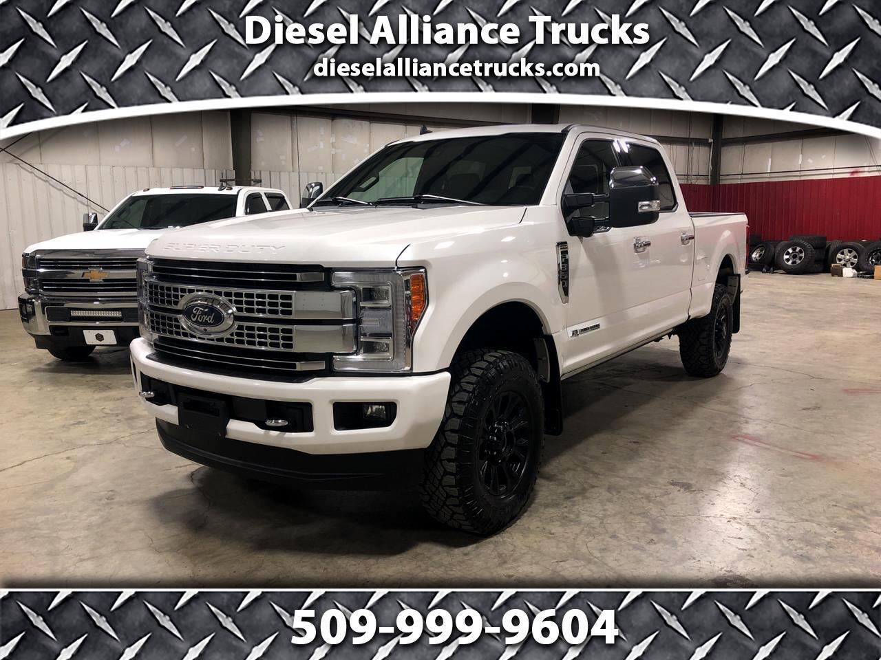 "Ford Super Duty F-350 SRW 4WD Crew Cab 156"" Platinum 2019"