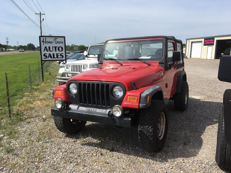 Hometown Auto Sales >> Used 2000 Jeep Wrangler Se For Sale In Franklin Ky 42134