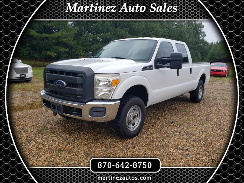 2013 Ford F-250 SD Crew Cab 4WD