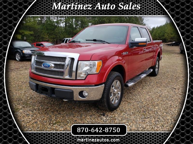 "Ford F-150 4WD SuperCab 133"" Lariat 2011"