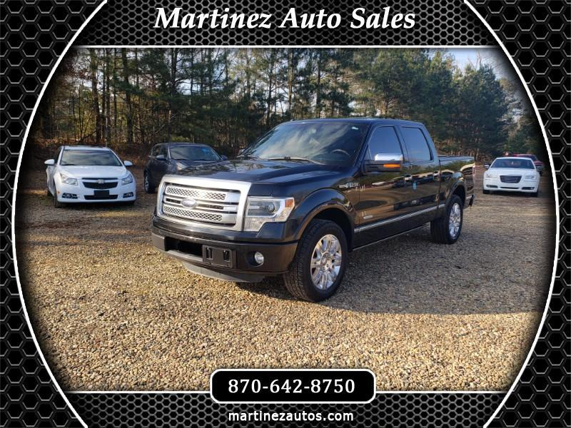 Ford F-150 Platinum 2WD SuperCrew 5.5' Box 2013