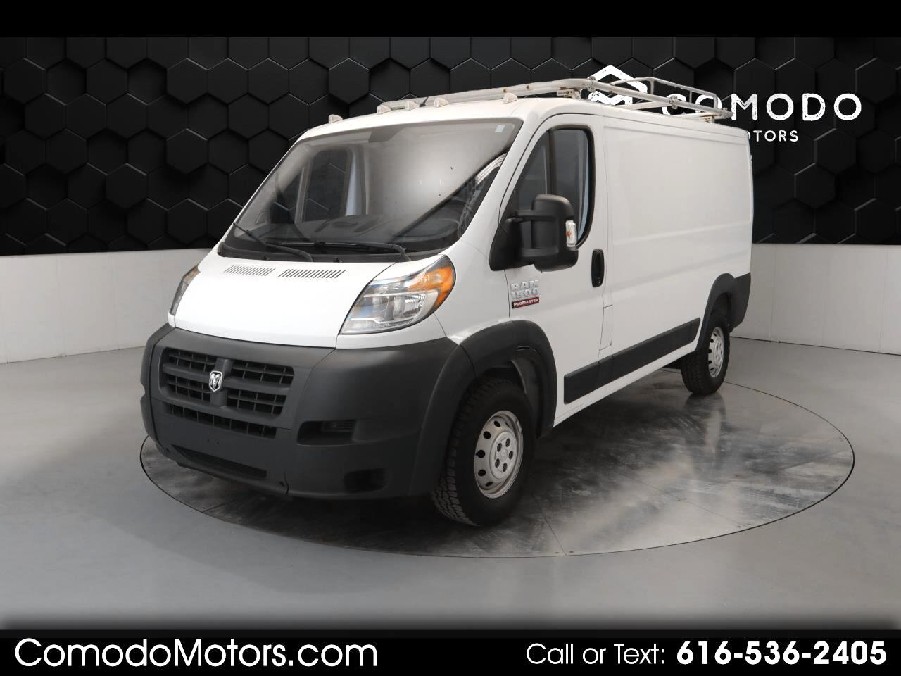 RAM Promaster 1500 Low Roof Tradesman 136-in. WB 2017