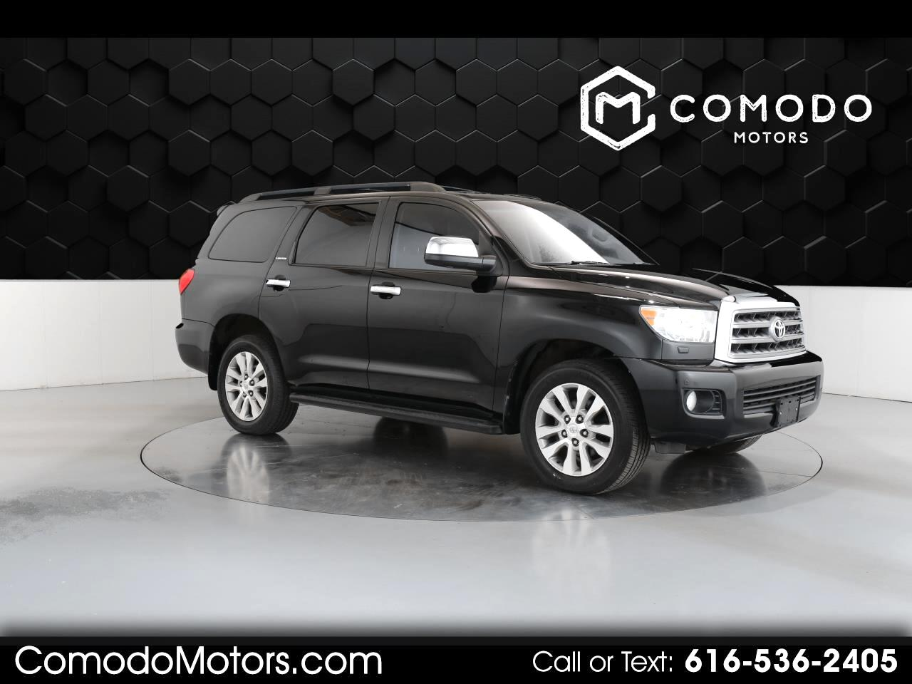 Toyota Sequoia Limited 4WD 2011