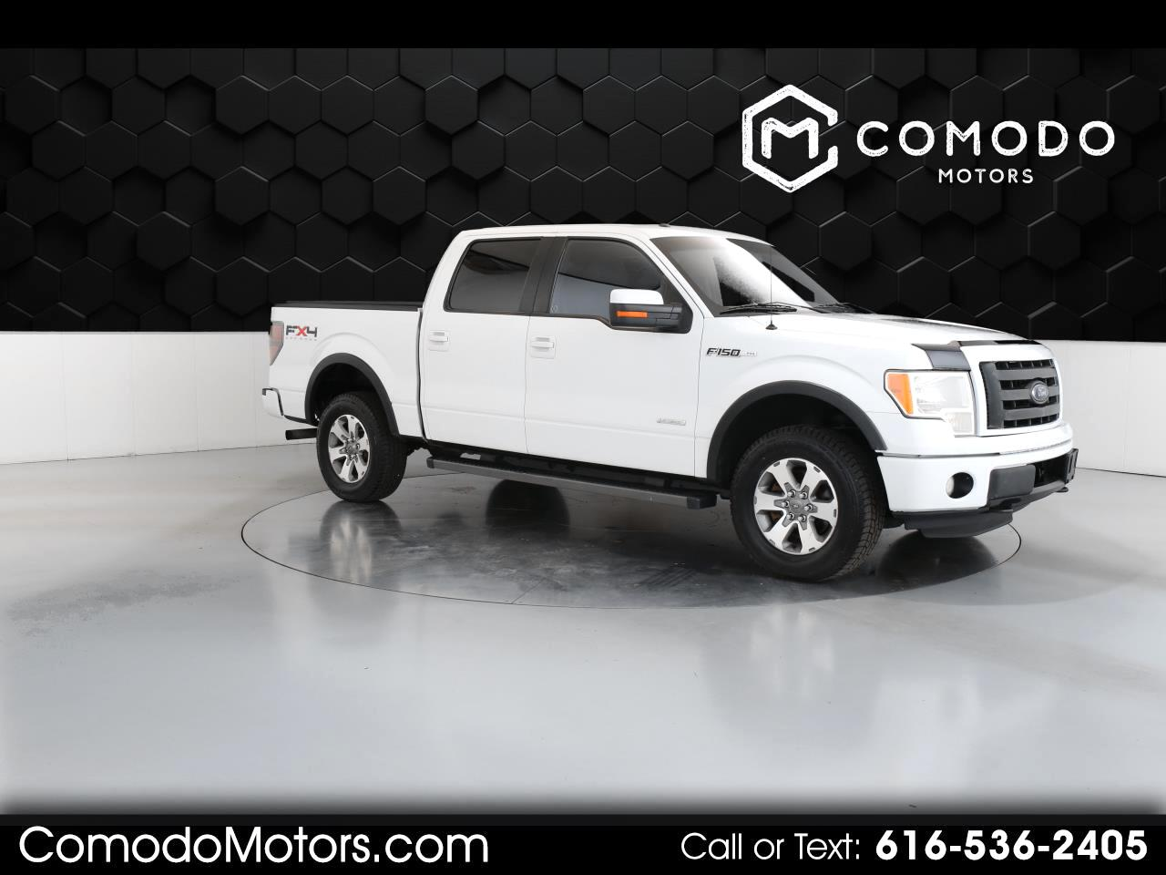 Ford F-150 FX4 SuperCrew 4WD 2011