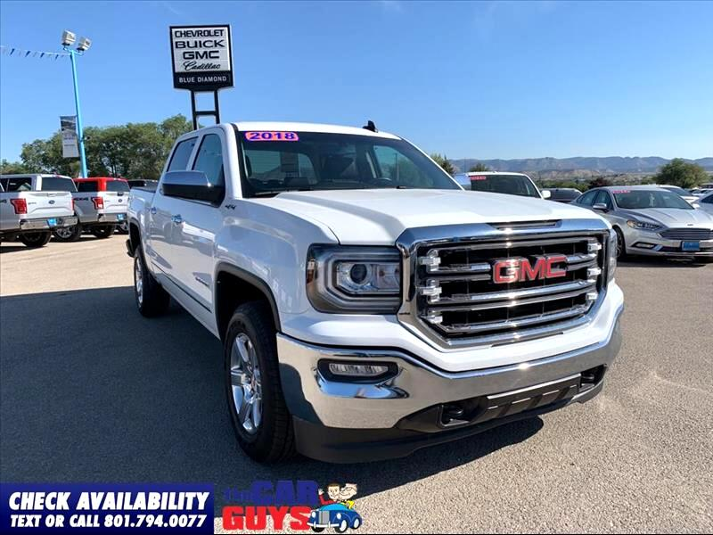 GMC Sierra 1500 SLT Crew Cab Long Box 4WD 2018