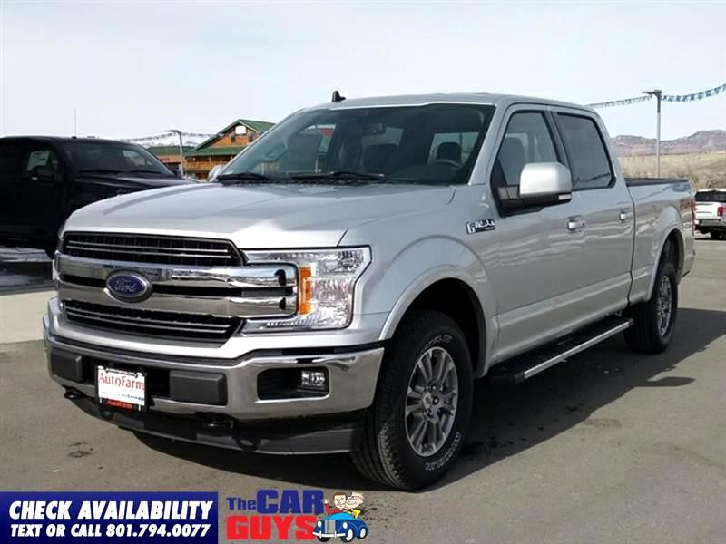 2019 Ford F-150 Lariat SuperCrew 6.5-ft. Bed 4WD