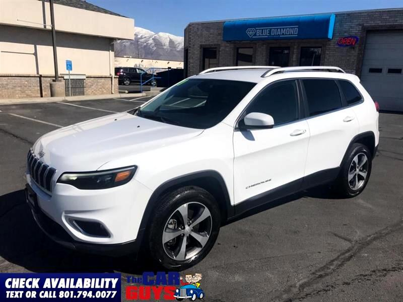 Jeep Cherokee Limited 4WD 2020