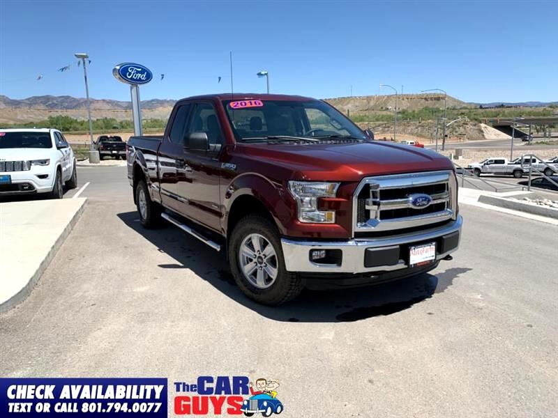 Ford F-150 XLT SuperCab 8-ft. Bed 4WD 2016
