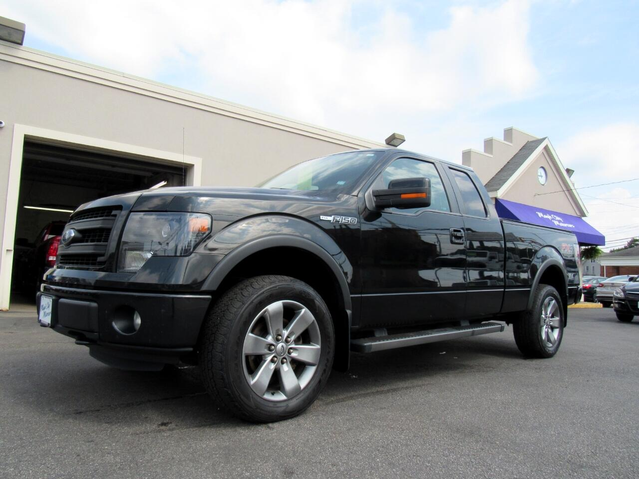 "2013 Ford F-150 4WD SuperCab 145"" FX4"