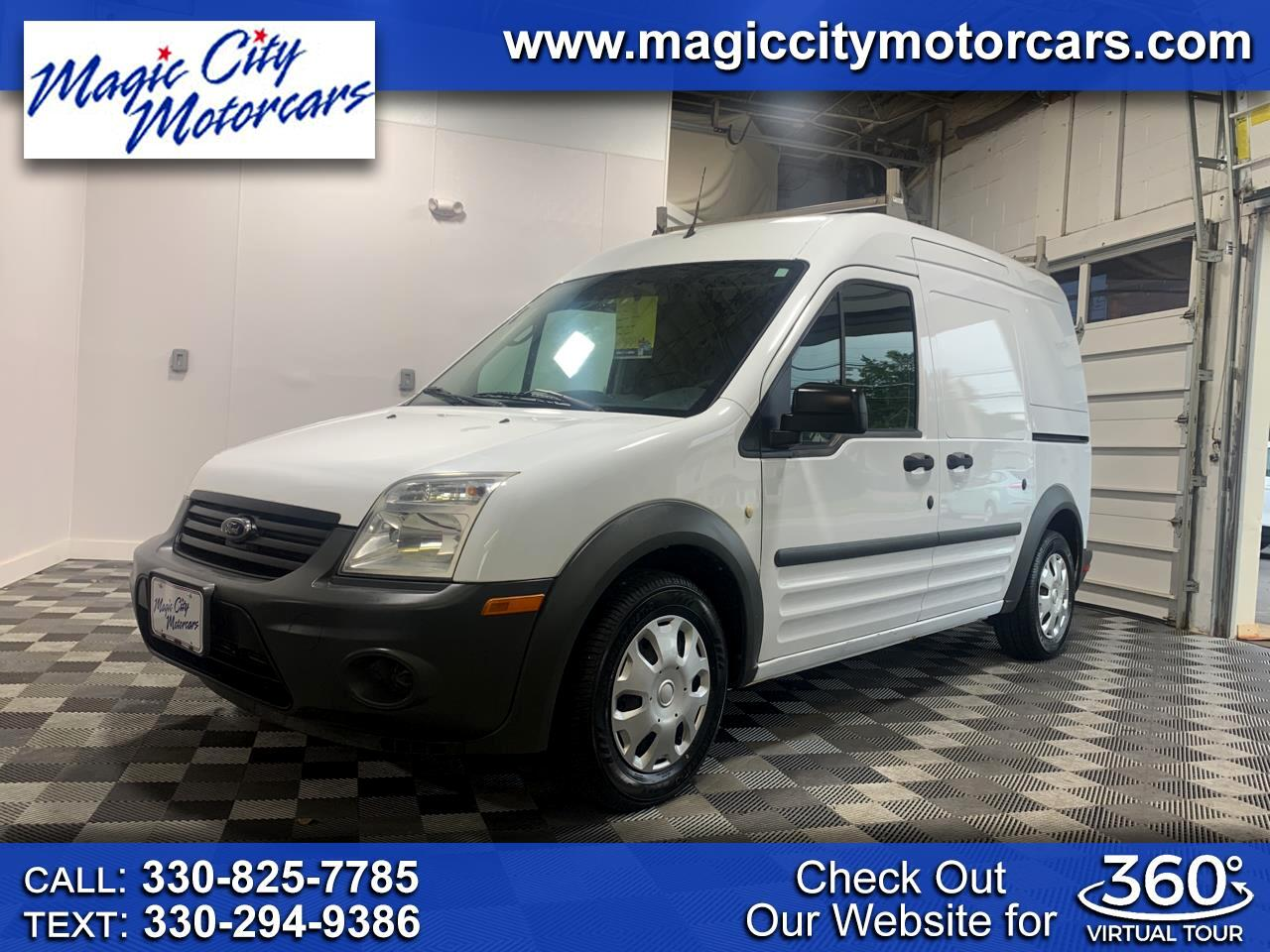"""Ford Transit Connect 114.6"""" XL w/rear door privacy glass 2010"""