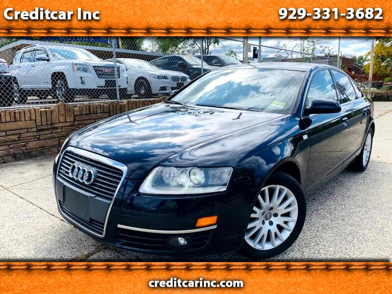 2007 Audi A6 3.2 with Tiptronic