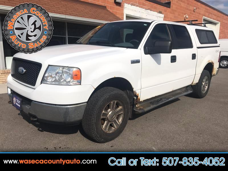 "Ford F-150 SuperCrew 139"" King Ranch 4WD 2005"