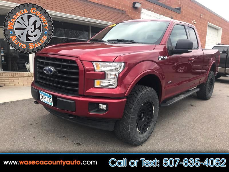 "Ford F-150 4WD SuperCab 145"" Lariat 2016"
