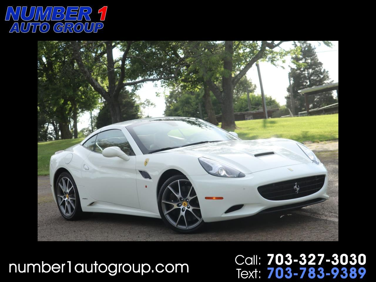 Ferrari California Convertible GT 2012