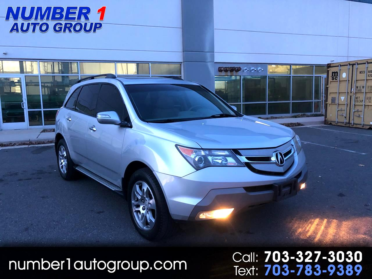 Acura MDX Tech Package 2009