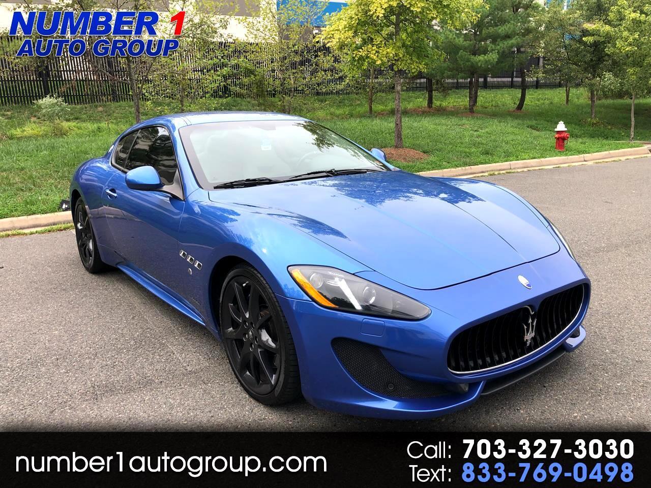 Maserati GranTurismo 2dr Cpe GranTurismo Sport 2015