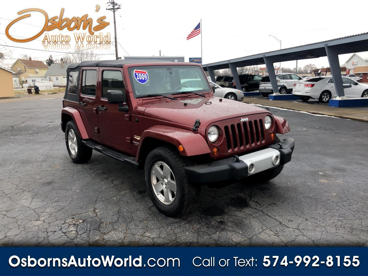 Jeep Wrangler 4WD 4dr Unlimited Sahara 2009