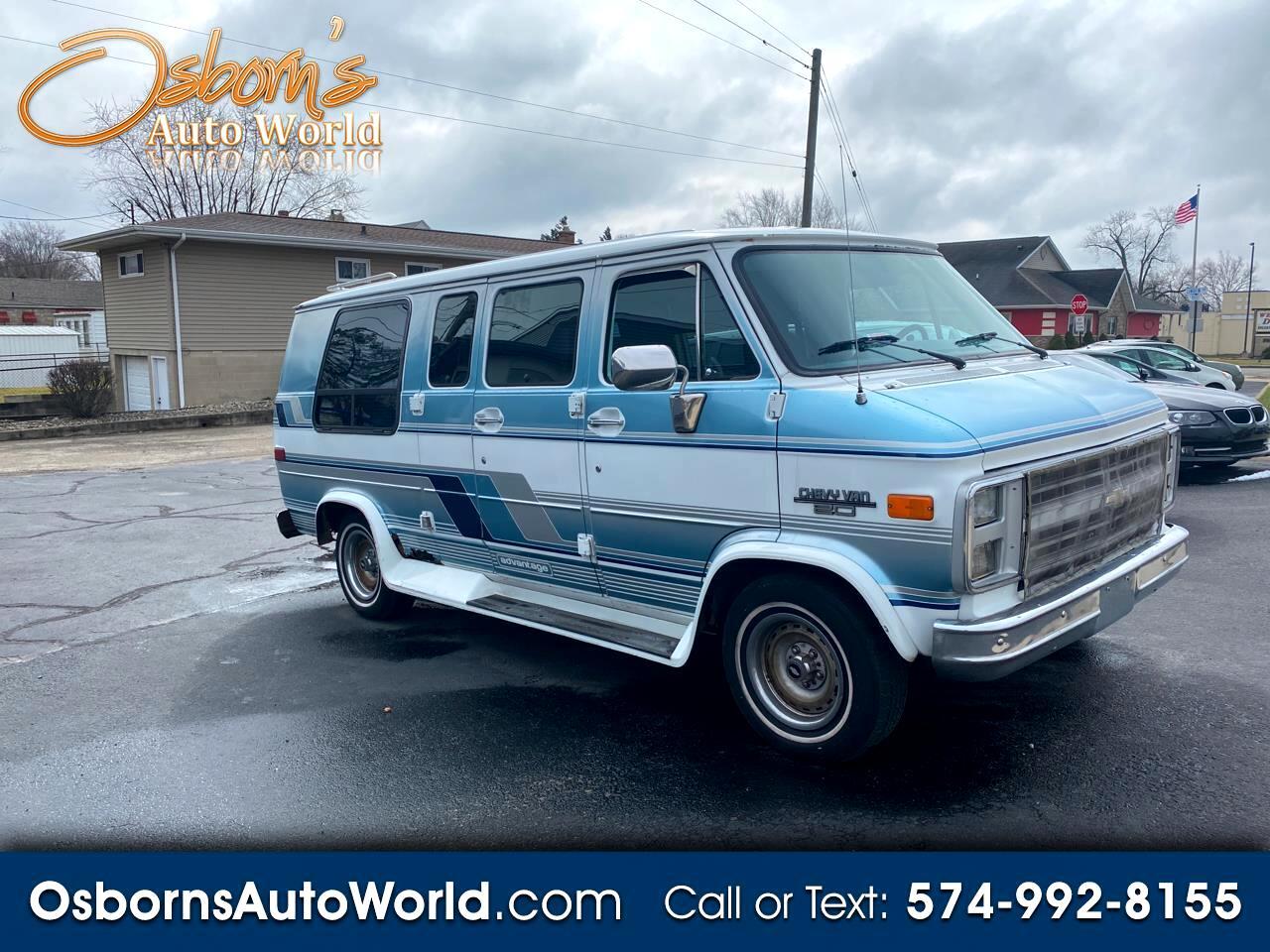 Chevrolet Sport Van G20 1991