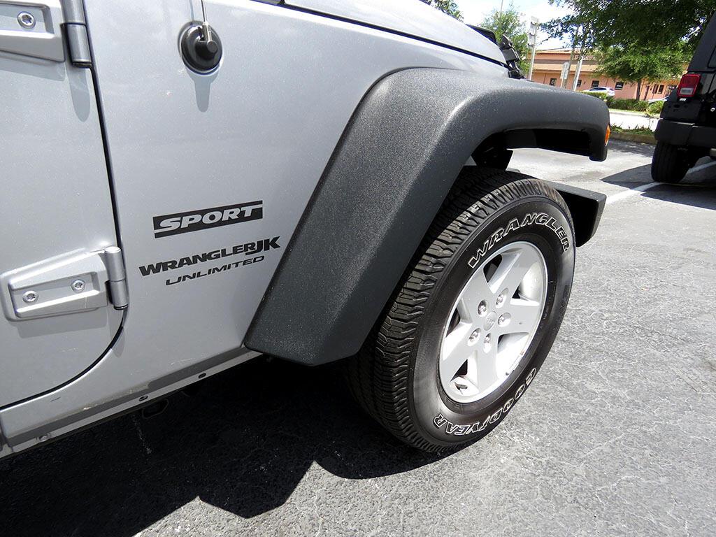 2018 Jeep Wrangler JK Unlimited Sport 4WD