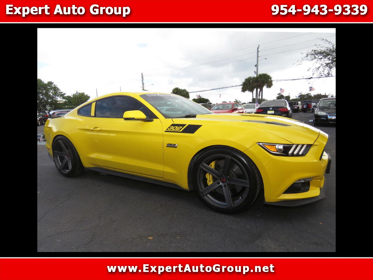 2017 Ford Mustang GT Premium Coupe / Saleen 302