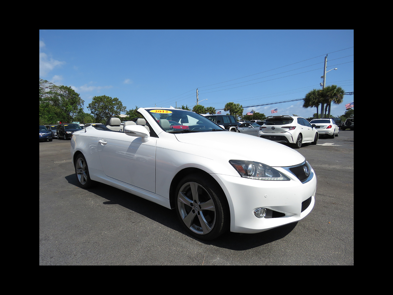 Lexus IS 350C  2012