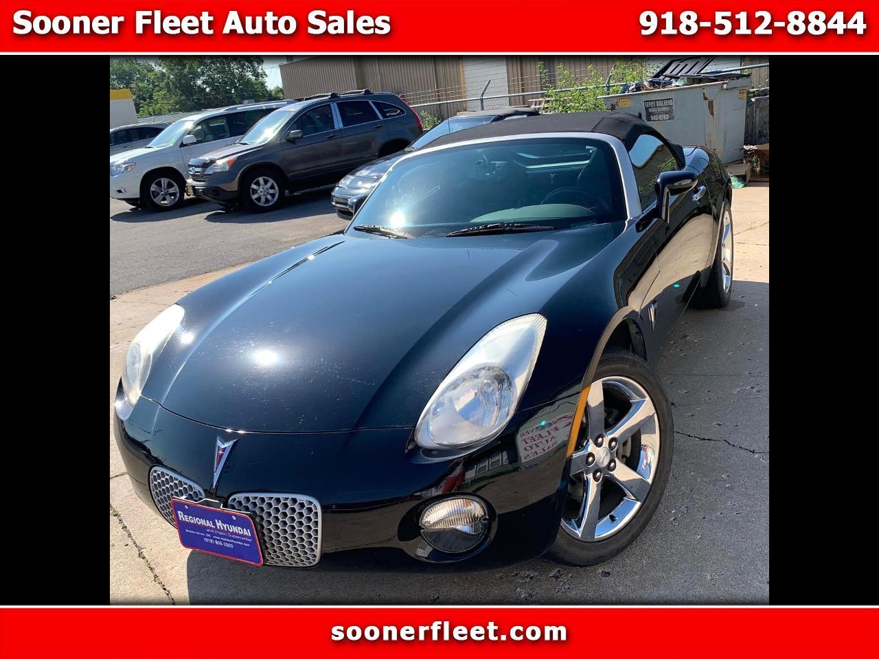 Pontiac Solstice 2dr Convertible 2007