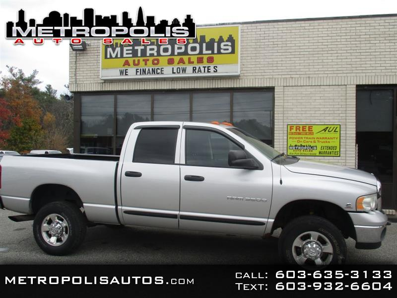 2005 Dodge Ram 3500 ST Quad Cab Long Bed 4WD