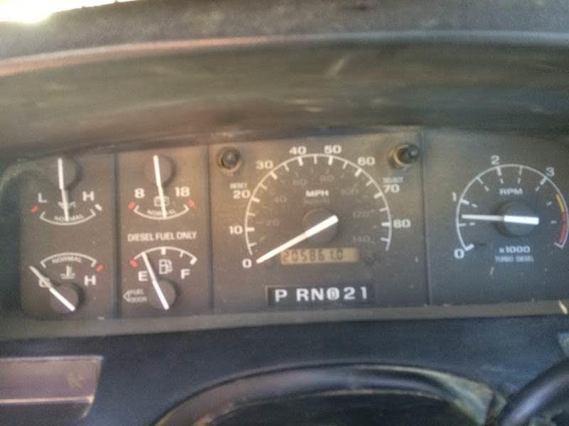 1997 Ford F-450 SD Chassis Cab 2WD