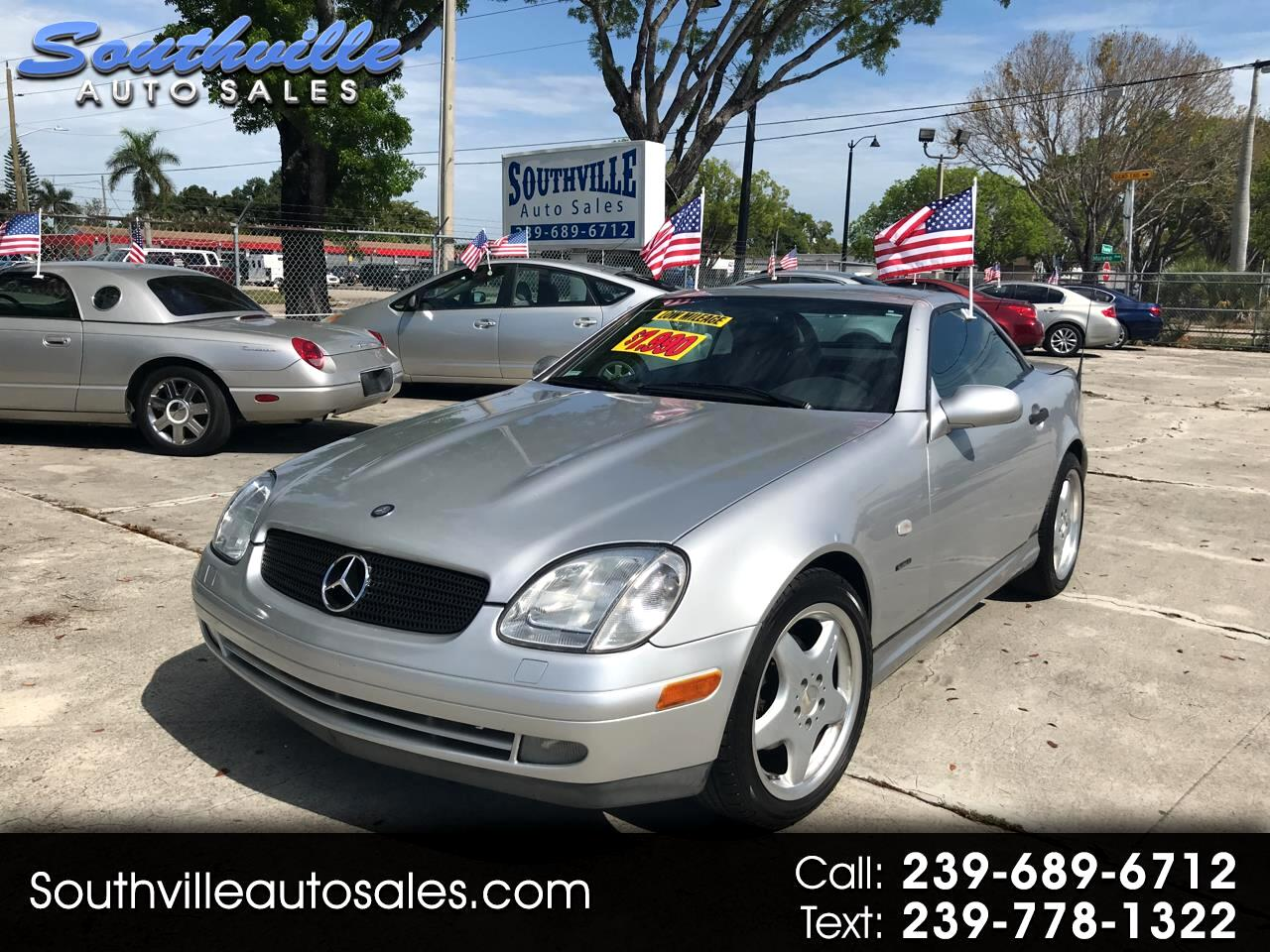 Mercedes-Benz SLK-Class Kompressor Roadster 2.3L Sp Edition 1999