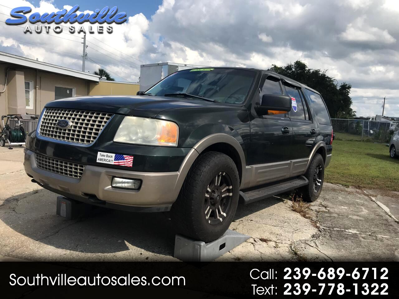 "Ford Expedition 119"" WB Eddie Bauer 4WD 2003"