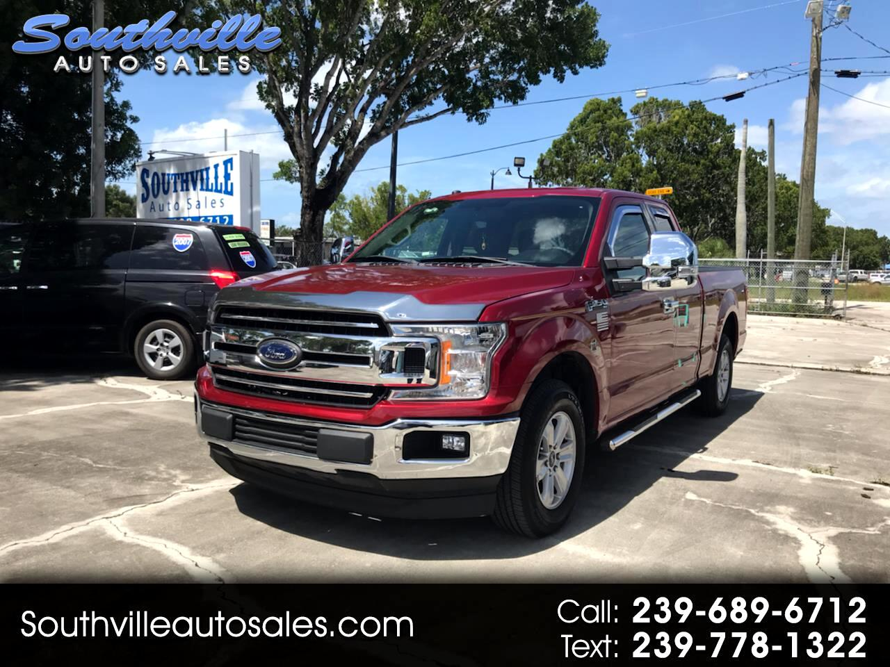 "Ford F-150 2WD SuperCab 145"" XLT 2018"